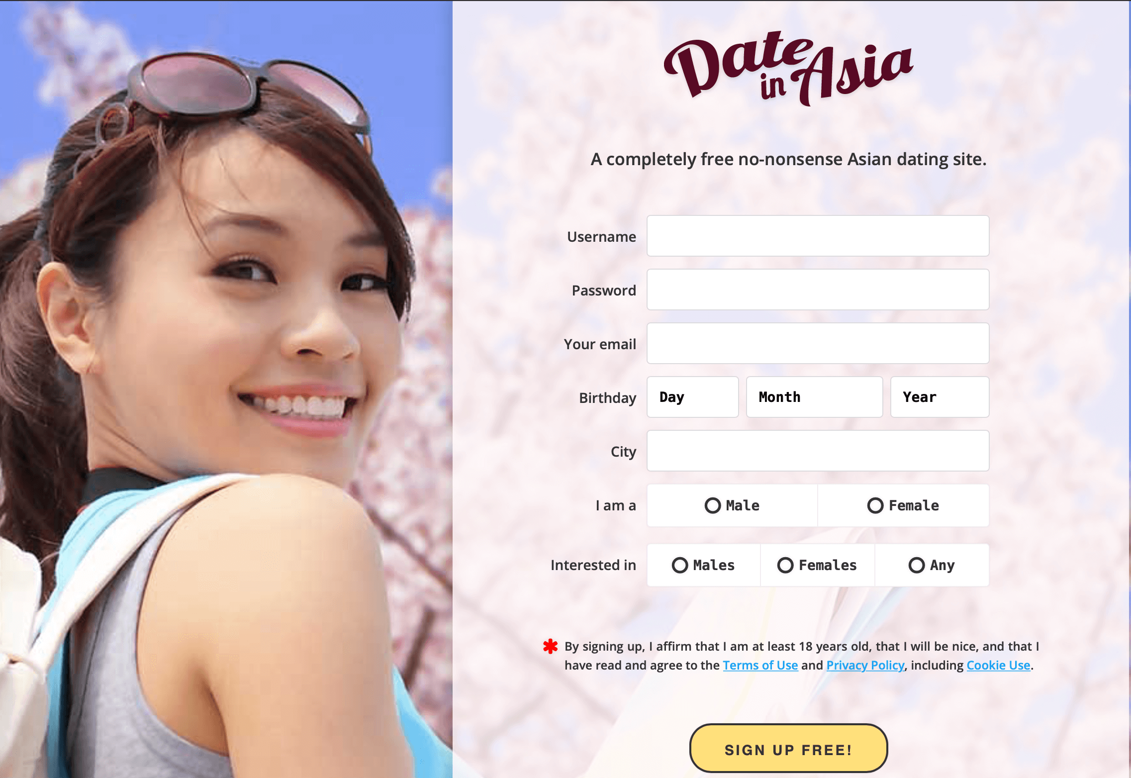 Dateinasia registration